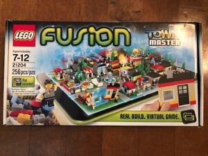 LEGO-Fusion-Town-Masters-Set-21204-Real-Build-Virtual-Game-Includes-App-NEW