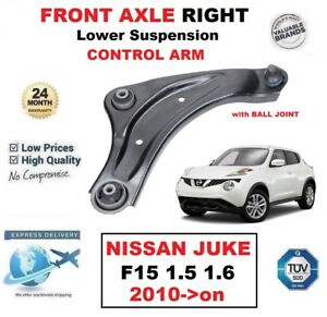 FRONT RIGHT LOWER SUSPENSION WISHBONE ARM BALL JOINT FOR NISSAN JUKE F15 2010