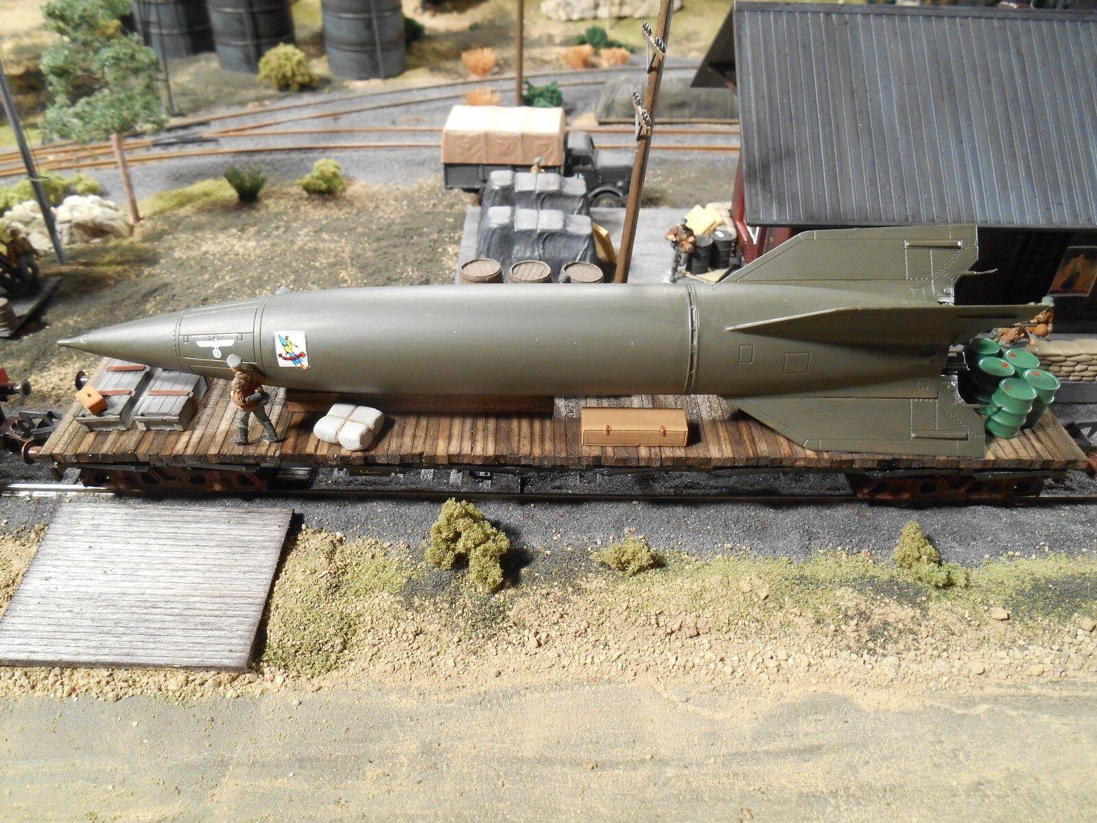 tienda de venta Ho Roco Minitank  2392 2392 2392 alemán de misiles A4 V2 Coche Personalizado detallada de ferroCocheril  comprar marca