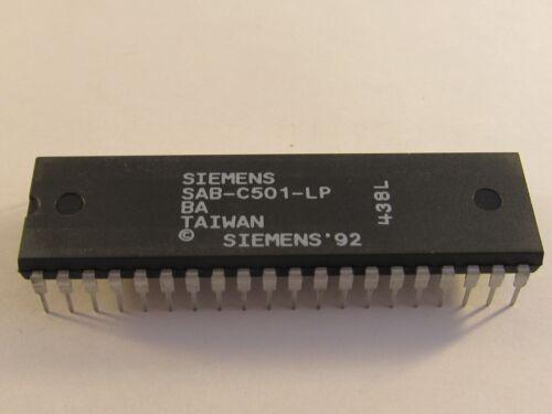 5 pcs sab-c501-lp siemens 8bit CMOS sécurité 12mhz dip40-ae22//7718