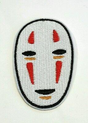 Spirited Away Studio Ghibli No Face iron on patch 82mm x 50mm