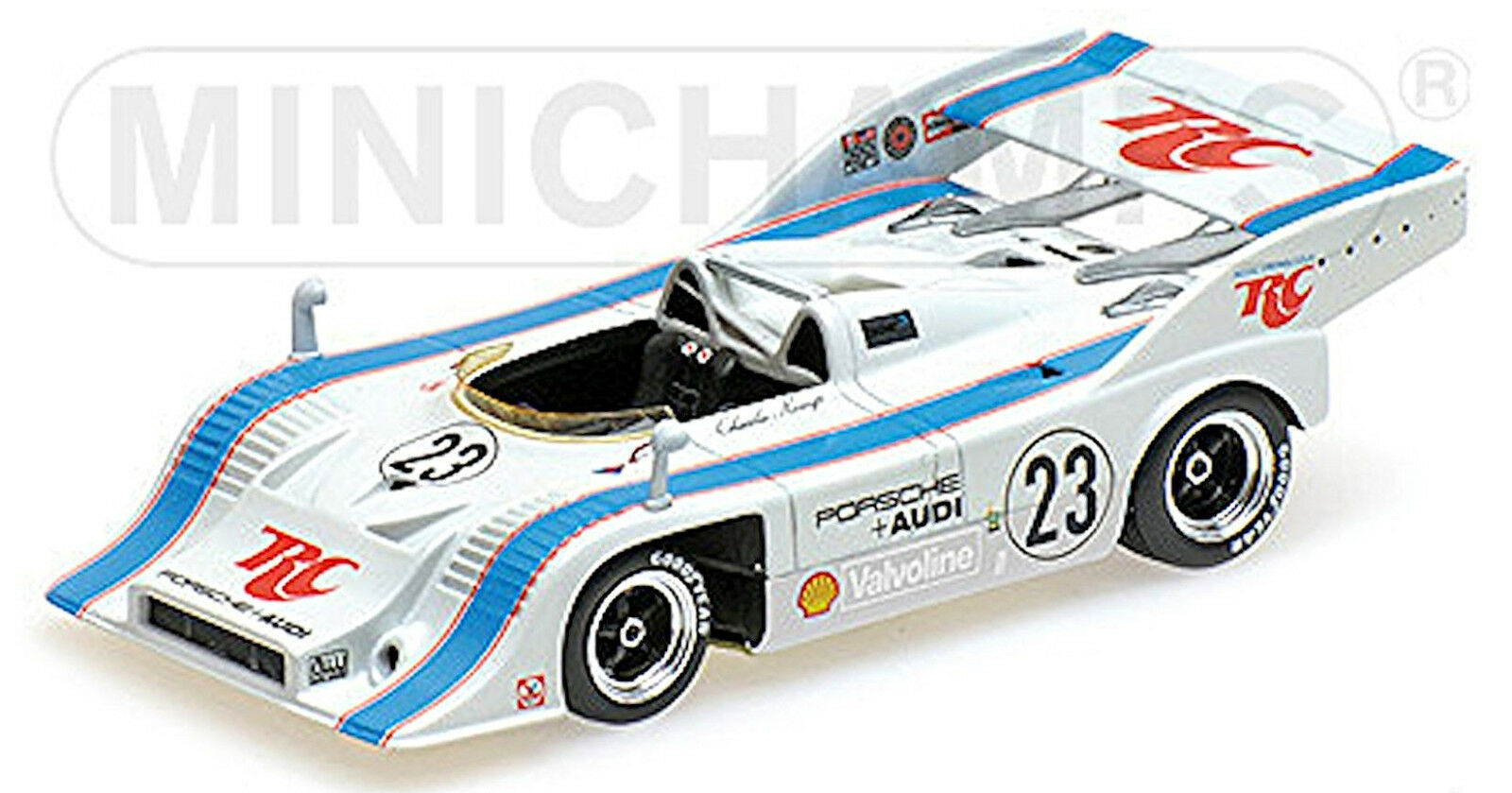 Porsche 917 10 Rinzler Racing Ganador Can Am Mosport 1973  23 1 43 Minichamps