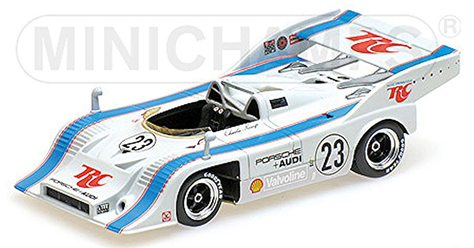 Porsche 917 10 Rinzler Course Gangant Can Am Mosport 1973  23 1 43 Minichamps