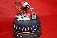 Peanuts Snoopy Westland Born To Be Cool Music Box/figurine Wt 8838