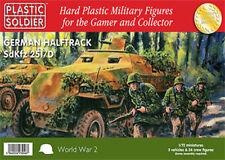 WW2V20006 20MM GERMAN HALFTRACK SDKFZ 251/D  - PLASTIC SOLDIER COMPANY - WW2