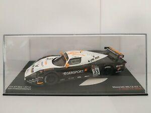1-43-MASERATI-MC12-GT1-FIA-GT-SPA-2010-HEGER-MULLER-IXO-ESCALA-SCALE-DIECAST