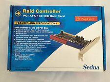 RAID CONTROLLER PCI 32bit ATA 133 IDE RAID CARD