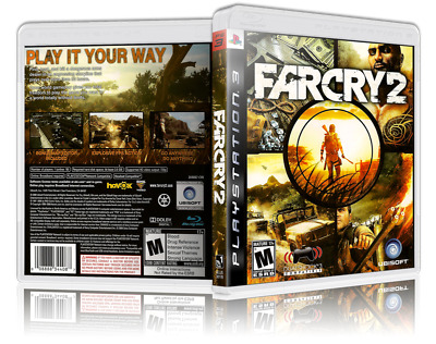 Far Cry 2 Replacement Ps3 Cover And Case No Game Ebay