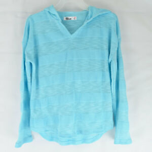 cf9817f99ec7 Image is loading Epic-Threads-Juniors-Girls-Sweater-Hoodie-Light-Blue-