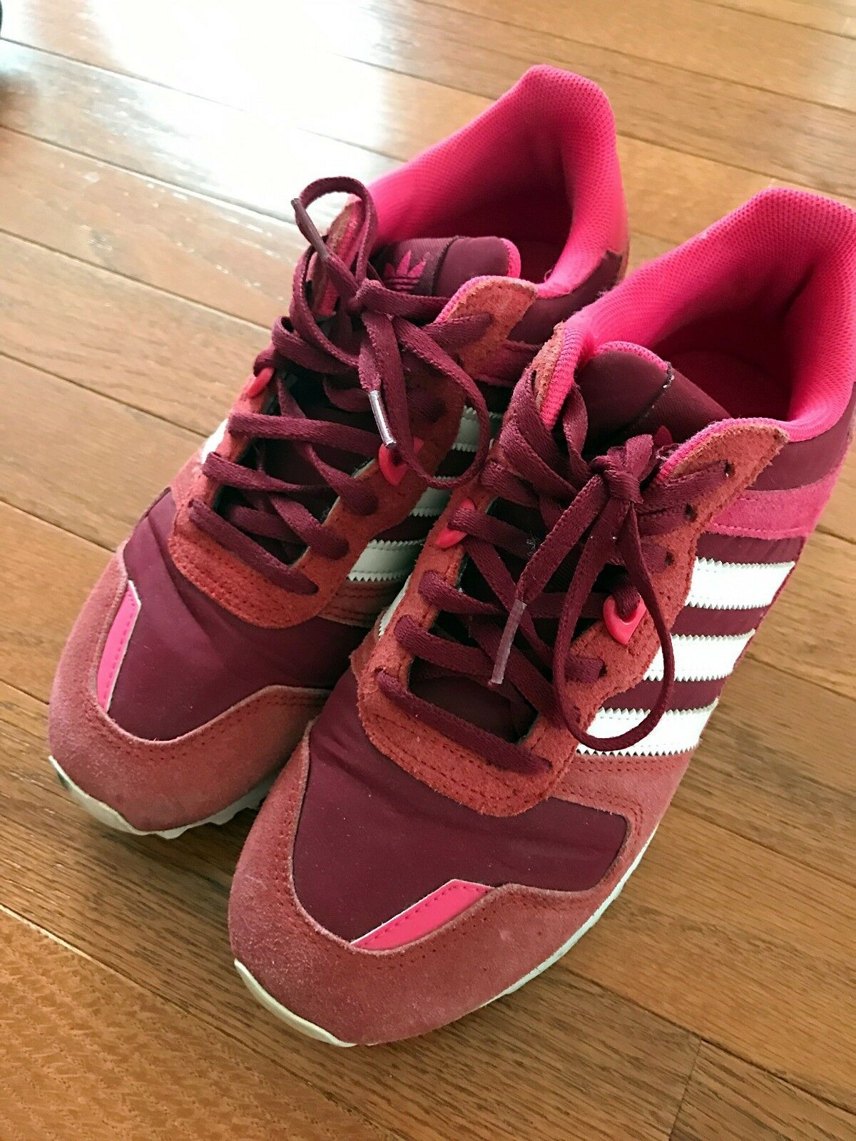 Adidas Originals ZX 700 W Pink White women Classic Shoes Sneakers Brand discount