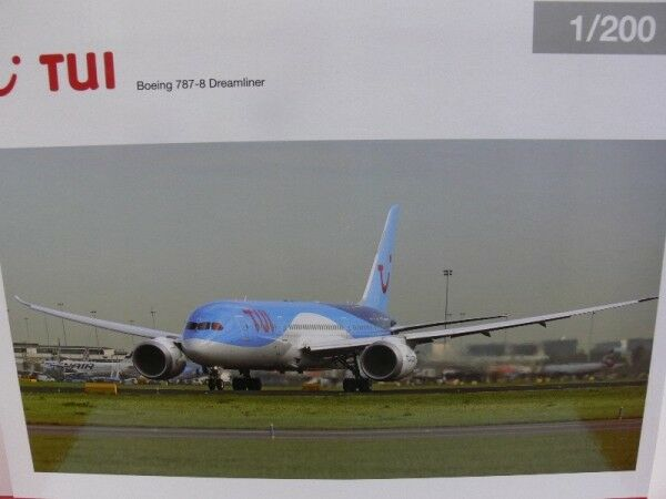 1 200 Herpa tui Airlines Boeing 787-8 Dreamliner Prix Spécial 557757