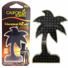 California Scents Hanging California Ice Scent Gel Palm Tree 3D Air Freshener