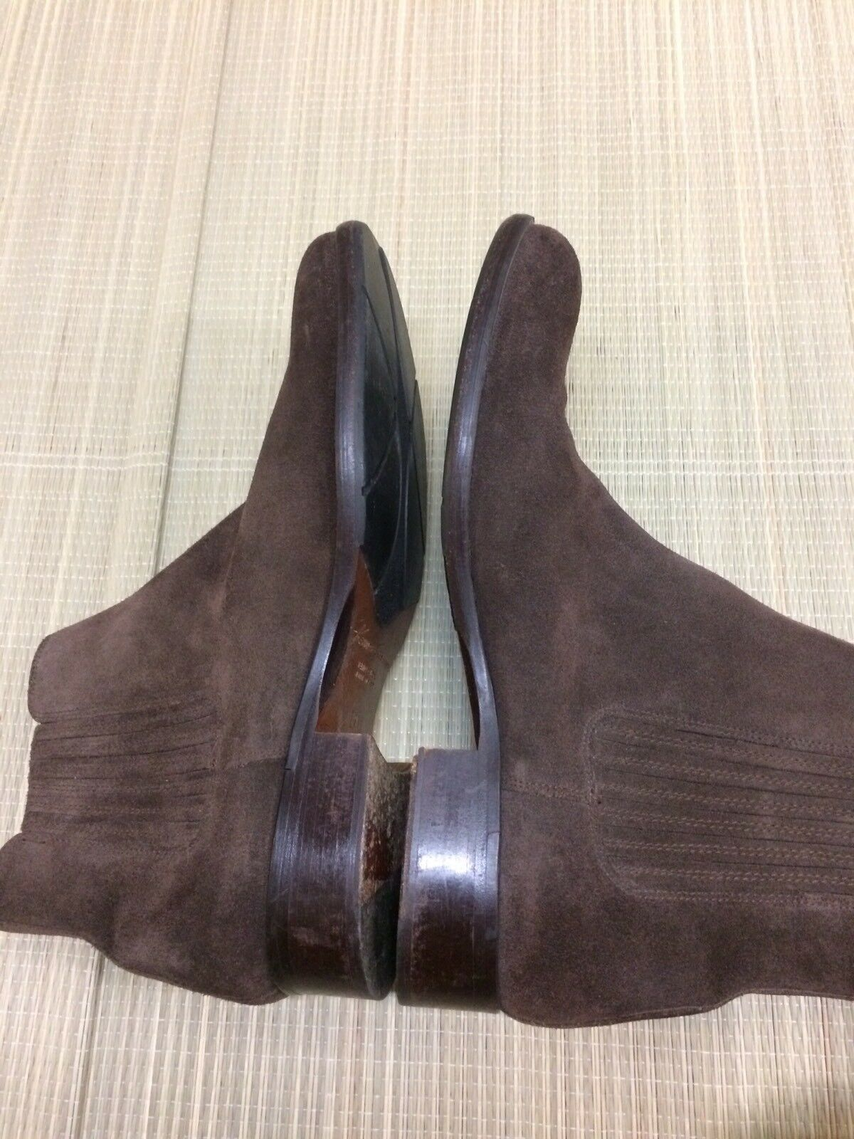 Kenneth Cole New York Chelsea Chelsea York Braun Suede Ankle Stiefel  Herren 9 Made In  EUC 8da823
