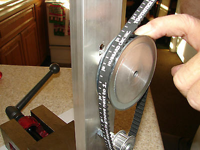 Belt Sizing Tool for CNC Stepper & Servo Motors  Sizes up to 120 Tooth belts