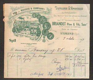 SAINT-AMAND-MONTROND-18-DISTILLERIE-SAINT-AMANDAISE-034-BRIANDET-034-Conge-1951