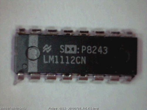 IC LM1112CN Dolby B-Type Noise Reduction Processor