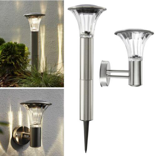 60lm in vetro extra chiaro Lampada da giardino Di alta qualità LED a luce solare in acciaio inox//in puro