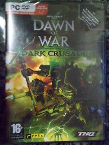 Dawn-of-War-Dark-Crusade-Warhammer-40-000-Nuevo-PC-Rol-accion-en-castellano