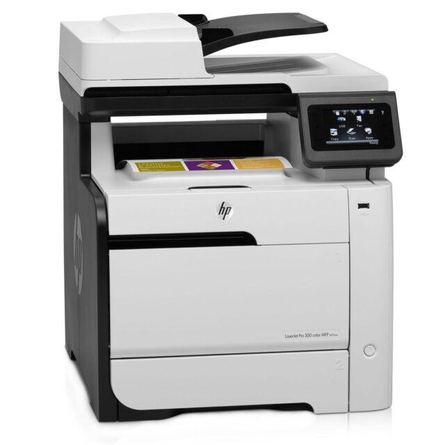HP Colour LaserJet Pro 300 M375NW MFP M375 A4 USB Network Wireless Laser Printer