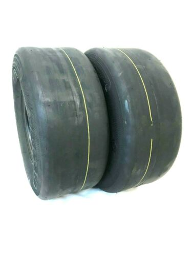 SET OF TWO 15X6.00-6 8 Ply Smooth Tread Lawn Mower Tire 15x600-6 15x600x6 Zero T
