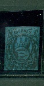 Sachsen-Johann-Nr-10-gestempelt-Nr-101