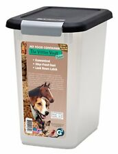 New Pet Food Storage 15 Lb Fresh Dog Cat Container Box Airtight Lock BPA free