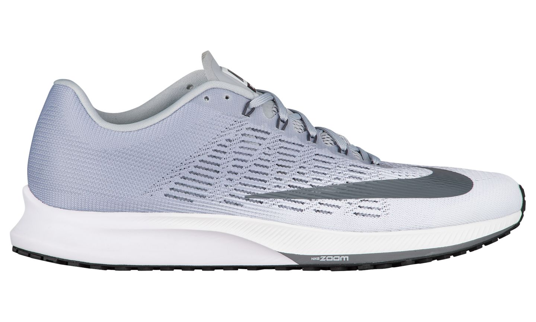 Nike Air Zoom Elite 9 HERREN SCHUHE Weiß Grau 863769 100 Msrp