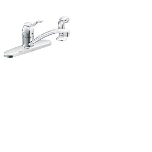 Moen Adler CA87016 Kitchen Faucet with Side Spray in Chrome