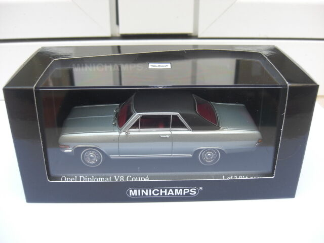 Opel Diplomat A V8 coupe Minichamps 400048020 MIB 1 43 amiral vauxhall Holden