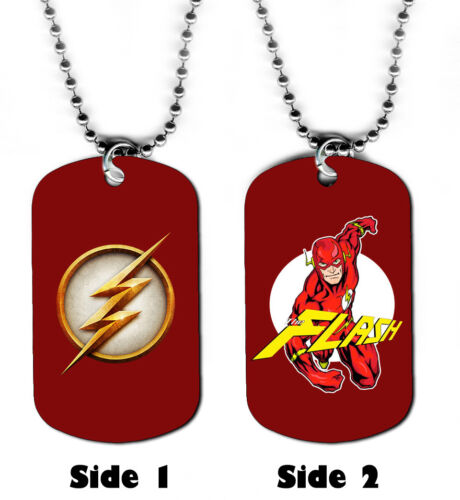 The Flash #SN1 Superhero Comic Book Art DOG TAG NECKLACE
