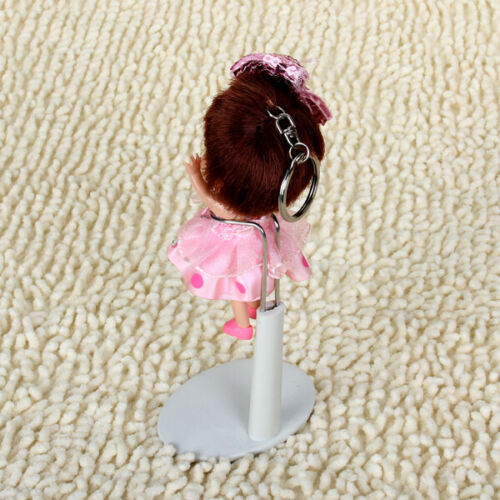 Doll Stand White Metal Plastic Stands Support for 8 to 16inch Dolls