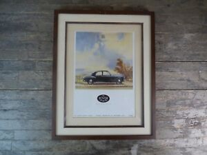 Framed-Original-1950-039-s-The-Rover-75-Car-Advertisement