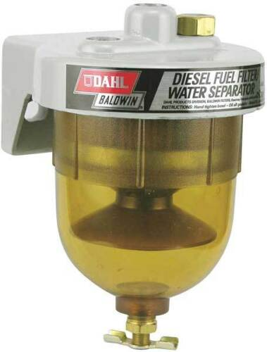 BALDWIN FILTERS 65-W30 Fuel/Water Separator,4-3/16x6-1/8 In