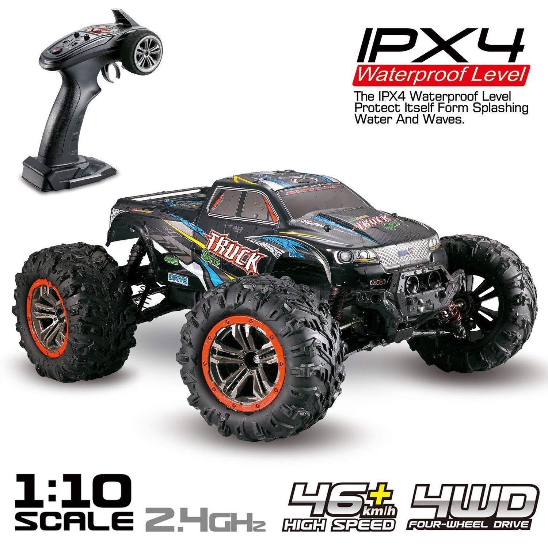 Coche de gran tamaño RC 1 10 Escala de alta velocidad 46 km h 4WD,control remote