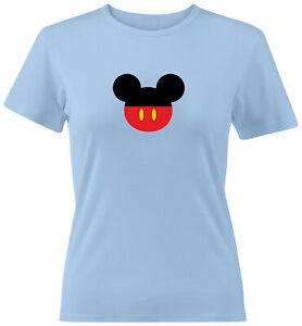 Mickey-Mouse-Head-Ears-Juniors-Teen-Women-Tee-T-Shirt-Gift-Shirts-Disney-S-2X
