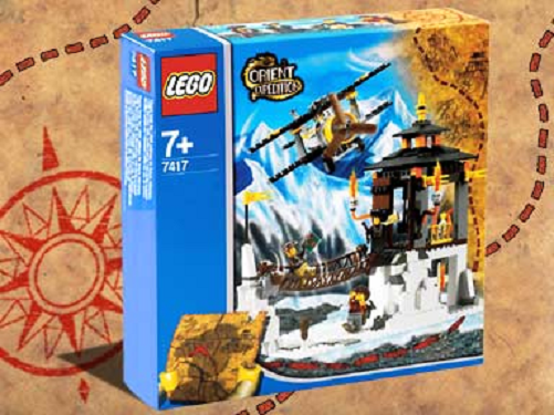 Lego Orient Expedition 7417 - Temple Of The Mountain NEU OVP