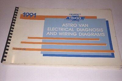 1991 CHEVROLET ASTRO VAN FACTORY ELECTRICAL DIAGNOSIS ...