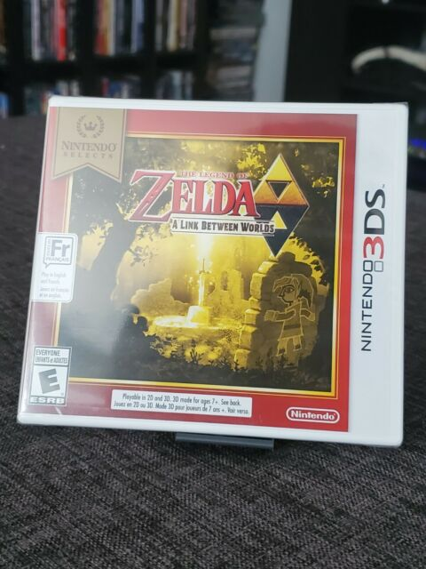 Nintendo 3DS The Legend Of Zelda A Link Between Two Worlds (NEW)