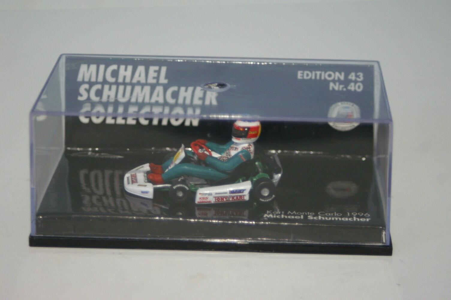 Minichamps Kart Monte Carlo 1996 M. Schumacher  1 510 964304 1 43 Diecast