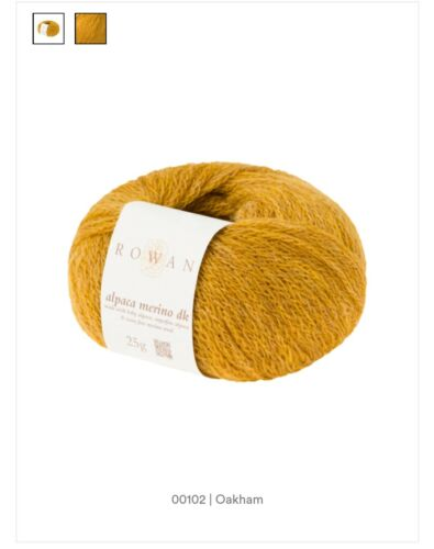 Rowan Alpaca Merino DK x 25g 6 Colours available