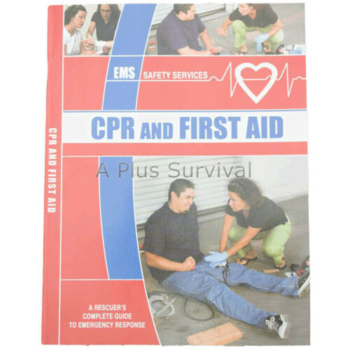 Great for Survival Packs! First Aid /& CPR Book
