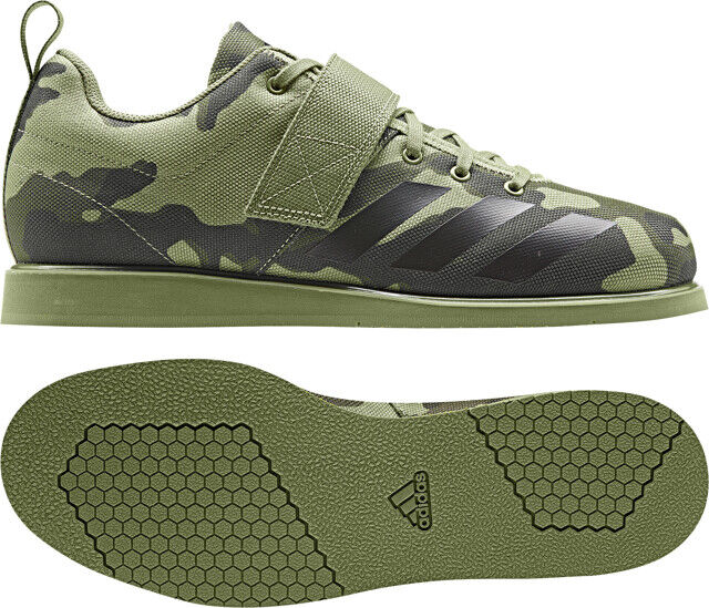 Adidas Powerlift 4 Olive Camo Weight