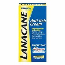 Lanacane Maximum Strength Anti-Itch Medication, Cream 1 oz
