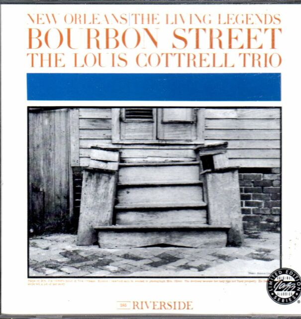 NEW ORLEANS - The Living Legends Louis Contrell Trio    .....?2