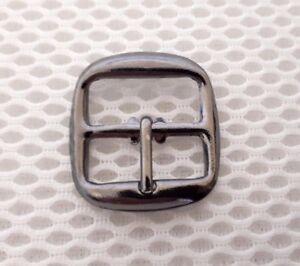 10 x20mm Gun Metal Acabado Hebilla De Metal Bolsa Zapato Corsé Leather Craft Cinturón Correa {