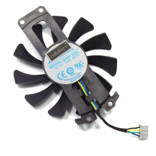 75mm GA91S2H GA81S2U Apistek Cooler Fans For ZOTAC GTX960 GTX 960 4G PCI-EDC