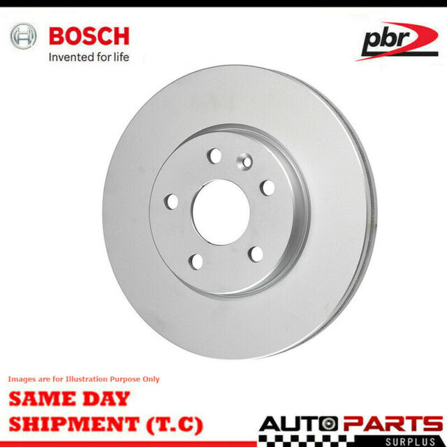 2x Front Wheel Disc Rotor For TOYOTA HI-ACE YH/LH5 12/82-7/89, VIN NEEDED BOSCH
