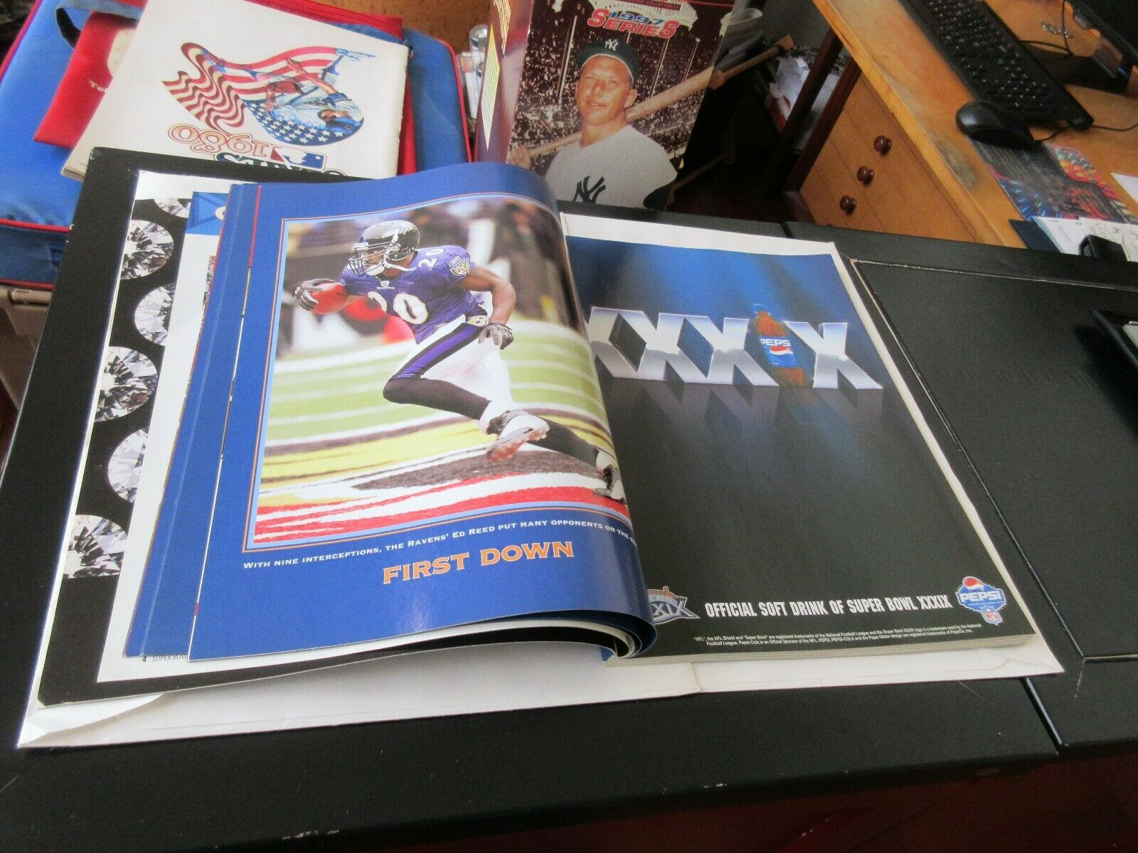 Super Bowl XXXlX , Game Program , Jacksonville , 2/6/20