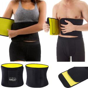 ed007b09e53 Men Women Waist Trainer Weight Loss Belt Slimmer Body Shaper Tummy ...