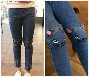 Kids-baby-Toddler-girls-clothing-Jeans-trousers-denim-pants-girls-skinny-jeans